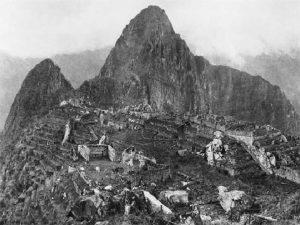 Primera foto tomada a Machu-Pichu