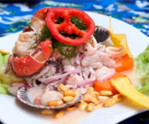 El ceviche, plato bandera del Perú