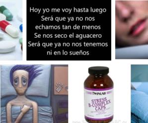 Ten cuidado con las pastillas para dormir