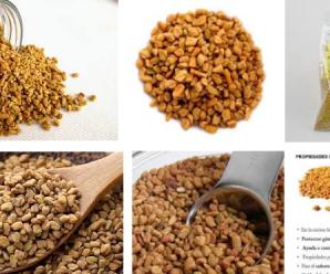 Las semillas de Fenogreco Y sus propiedades