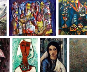 Echándole una mirada a la obra de cinco pintores cubanos contemporáneos.