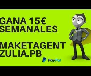 Gana 15€ semanales con marketagent (estrategia 2018)