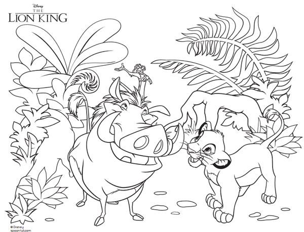 Los Mejores Dibujos Para Colorear De Disney ⋆ Grupo Perú