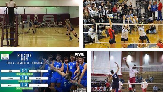las reglas basicas del volleyball