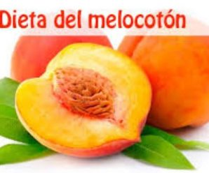 Dieta del Melocotón